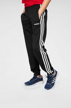 adidas joggingbroek »e 3 stripes pant« zwart