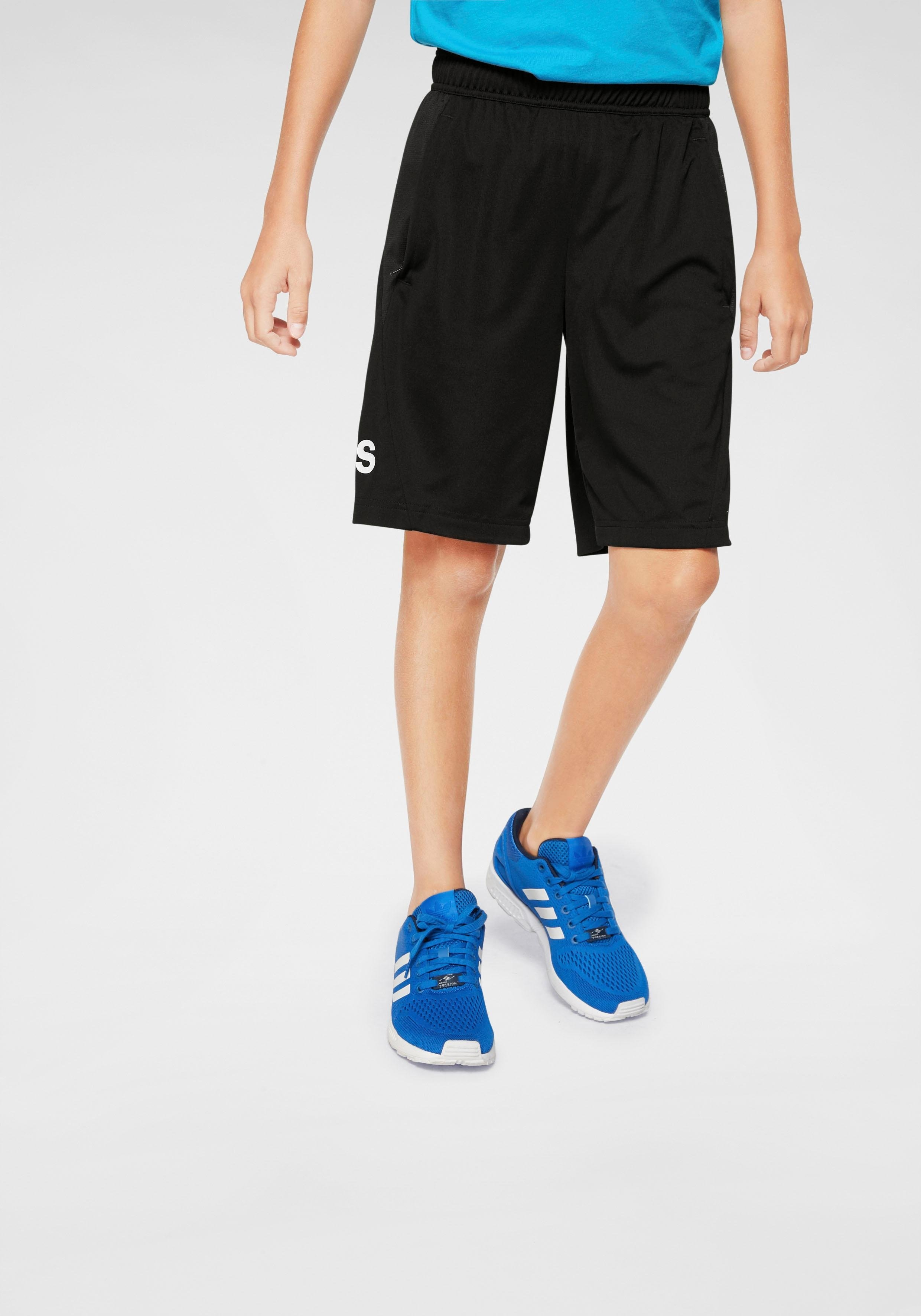 adidas Performance trainingsshort »YOUNG BOY TRAINING EQUIPMENT KNIT SHORTS« nu online bestellen