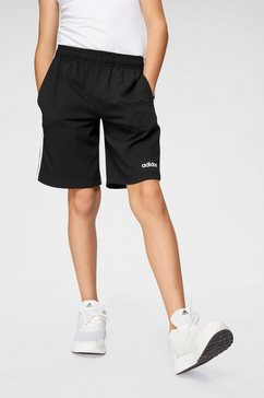 adidas trainingsshort »e 3 stripes woven shorts« zwart