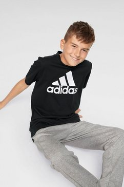 adidas performance t-shirt »young boys must have bos tee« zwart