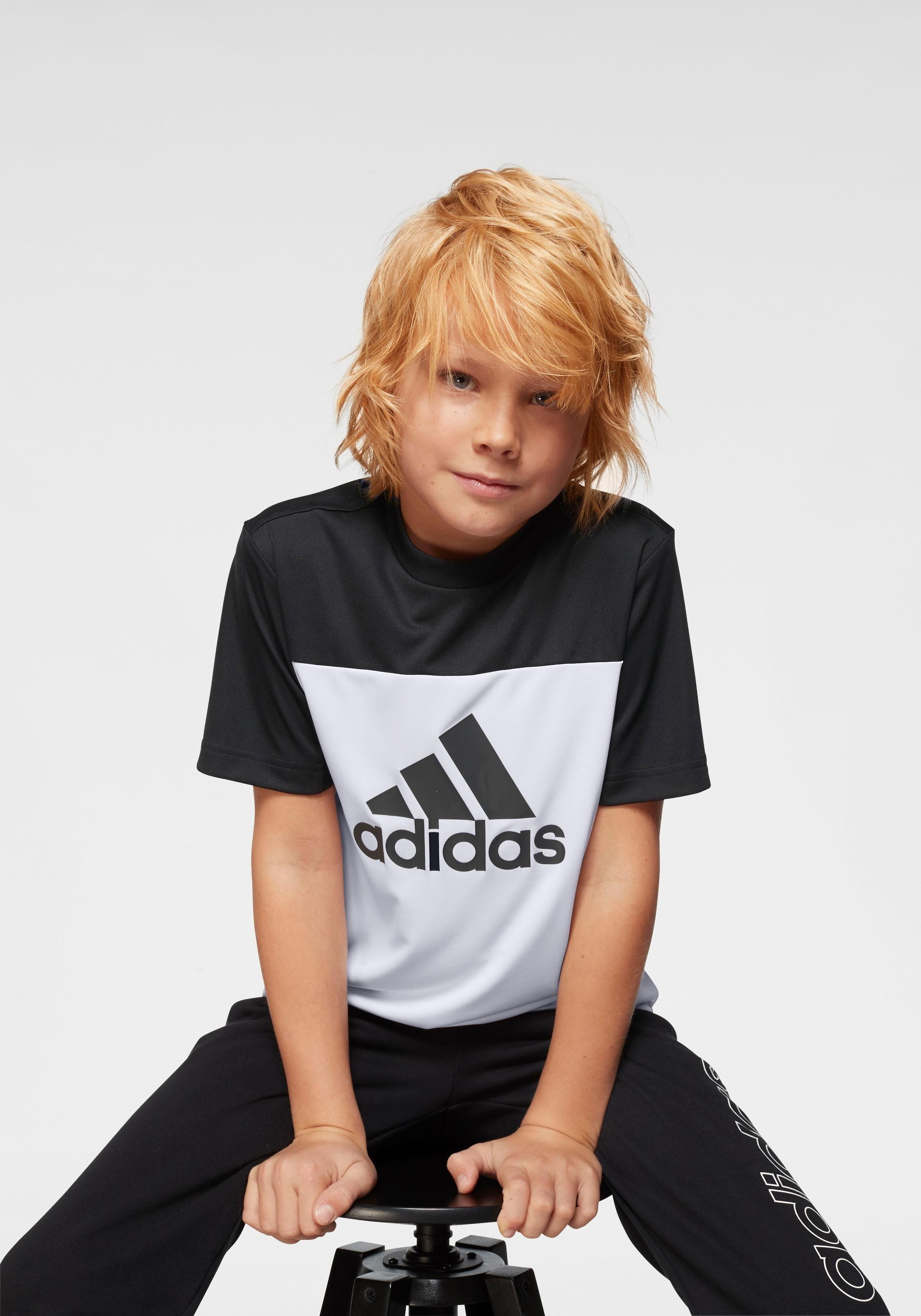 adidas Performance trainingsshirt »YOUNG BOY TRAINING EQUIPMENT TEE« in de webshop van OTTO kopen