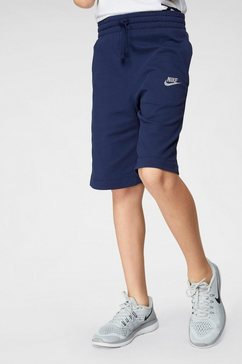 nike short »boy nsw short jersey aa« blauw