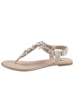 buffalo sandalen goud