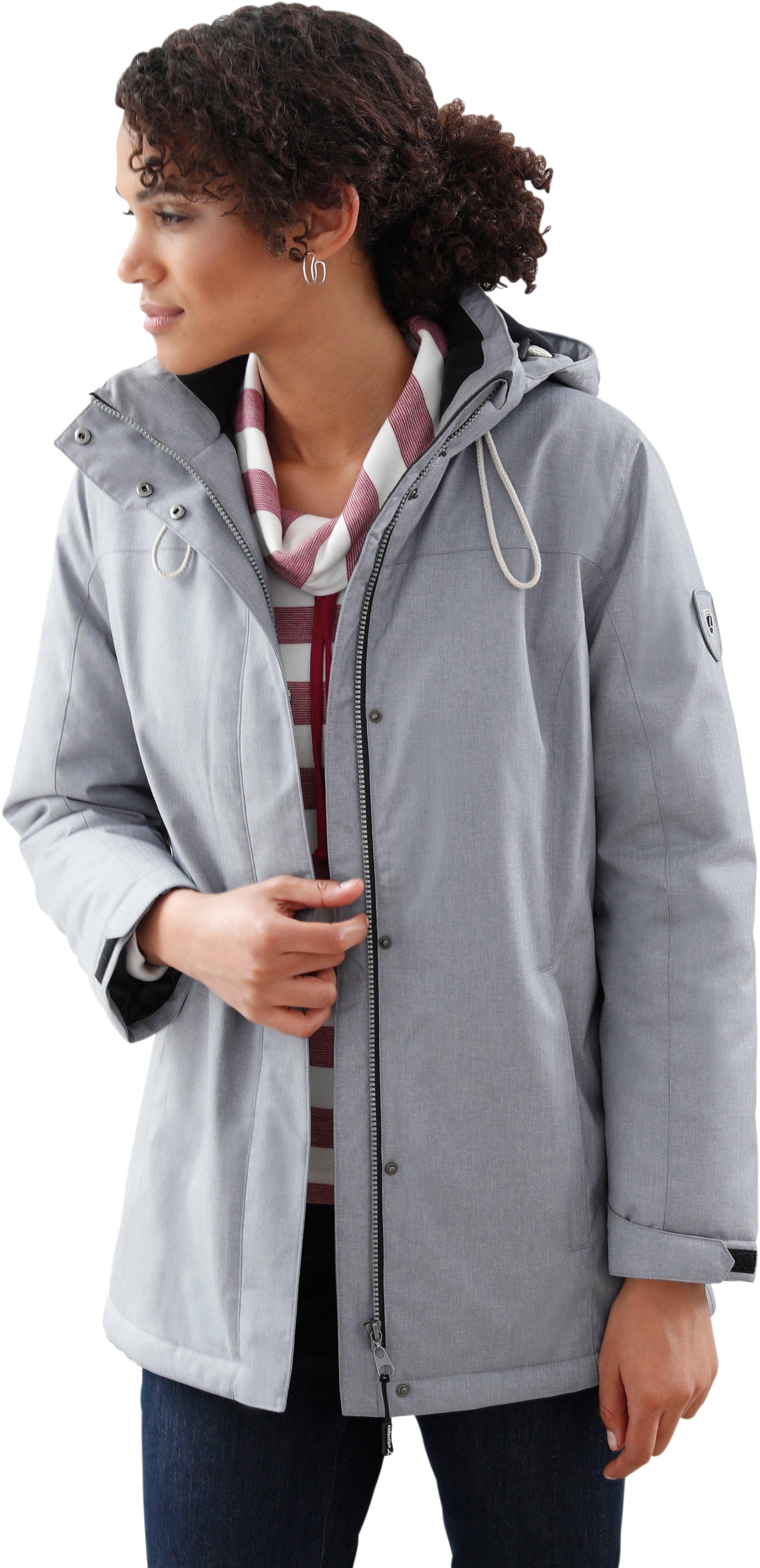 Casual Looks jas met stijlvol visgraatmotief bestellen: 14 dagen bedenktijd