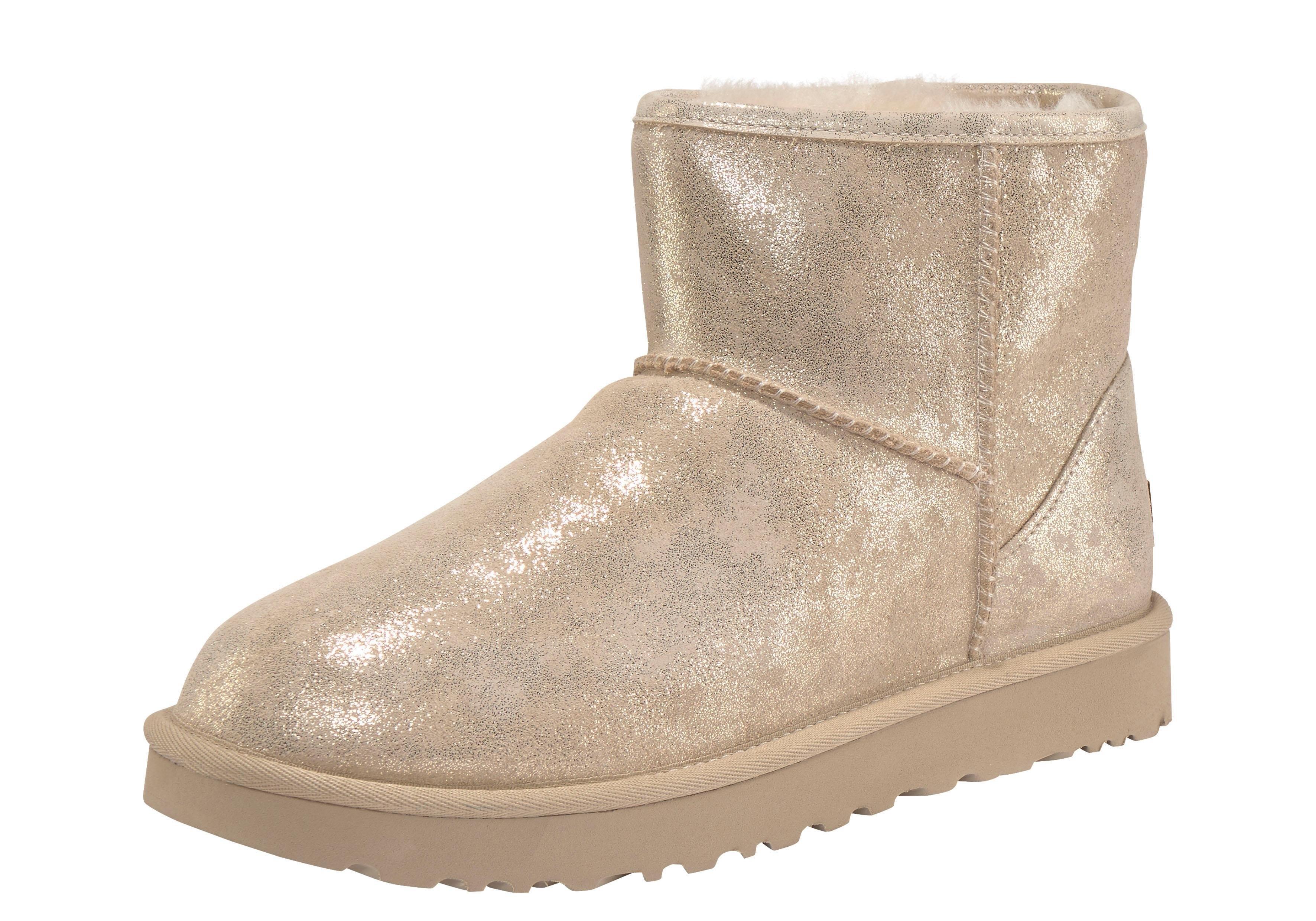 Ugg boots zonder sluiting »Classic Mini Stardust« online kopen op otto.nl