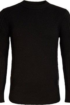 g-star raw trui met ronde hals 3d biker r knit zwart