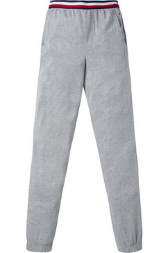 tommy hilfiger relaxbroek »modern stripe« grijs