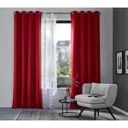 gordijn, »sola«, my home, ringen per stuk rood