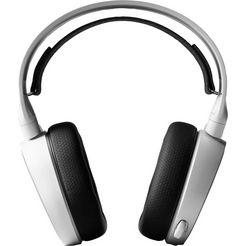 steelseries »arctis 3 (2019 edition) wired 7.1-surround« gaming-headset (bedraad, ruisonderdrukking) wit