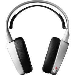 steelseries »arctis 5 (2019 edition) usb + rgb« gaming-headset (bedraad, ruisonderdrukking) wit