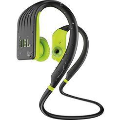 jbl »endurance jump« in-ear-hoofdtelefoon (bluetooth, handsfreefunctie) groen