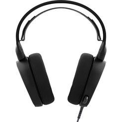 steelseries »arctis 3 (2019 edition) console edition« gaming-headset (bedraad, ruisonderdrukking) zwart