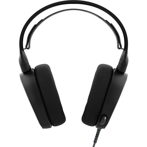Gaming headset 7.1 Surround 3.5 mm jackplug Stereo, Kabelgebonden Steelseries ARCTIS 3 Console Editi