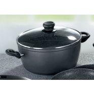 grote pan, stoneline zwart