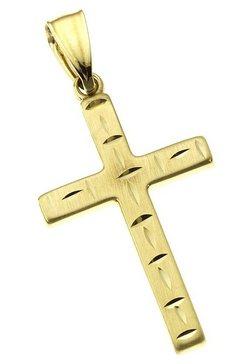 firetti halssieraad: hanger zonder ketting 'kruis' goud
