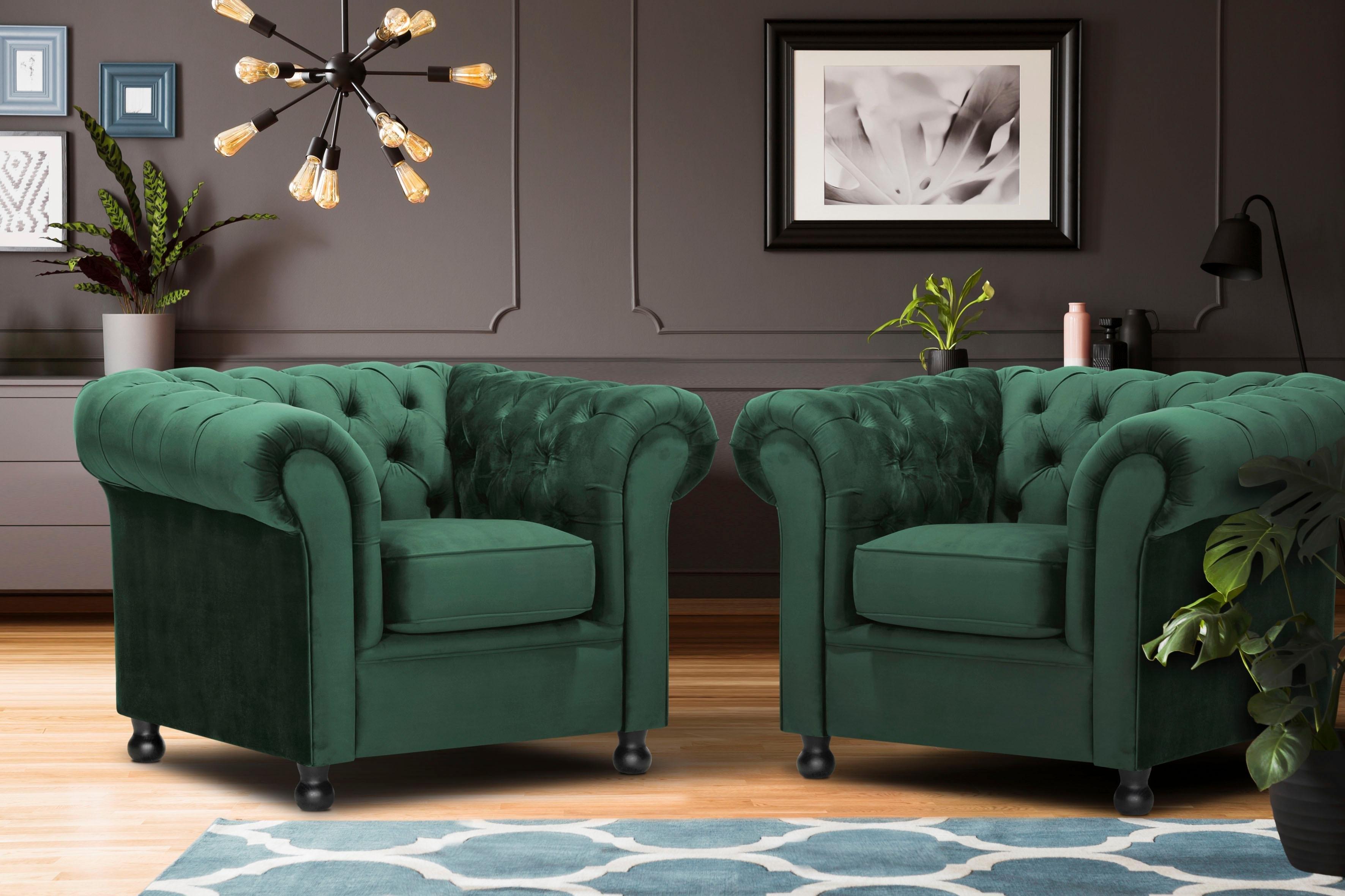 Home Affaire fauteuil »Chesterfield Home« bestellen: 30 dagen bedenktijd