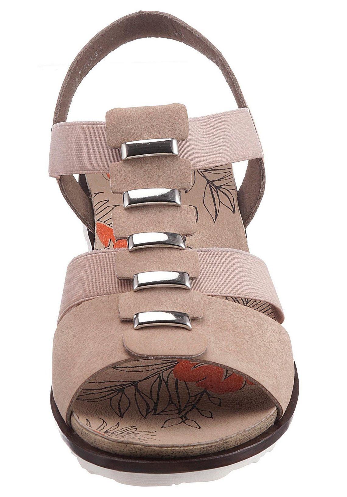 Rieker sandalen online bij  oudroze