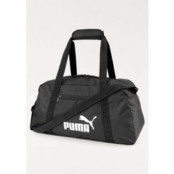 puma sporttas »phase sports bag« zwart