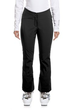 maier sports softshell-broek »danusa« zwart