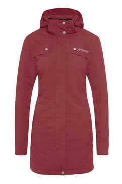 maier sports lange winterjas »kusi coat w« rood