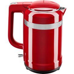 kitchenaid waterkoker, 5kek1565eer, 1,5 liter, 2400 watt rood