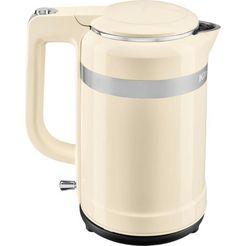 kitchenaid waterkoker, 5kek1565eac, 1,5 liter, 2400 watt beige