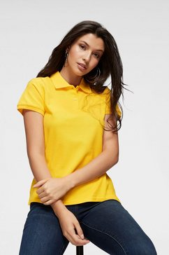 fruit of the loom poloshirt »lady-fit premium polo« geel