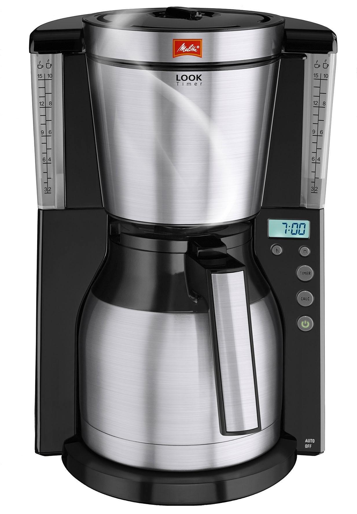 Op zoek naar een Melitta filterkoffieapparaat Melitta Look Therm Timer 1011-16, met thermoskan en timerfunctie? Koop online bij OTTO