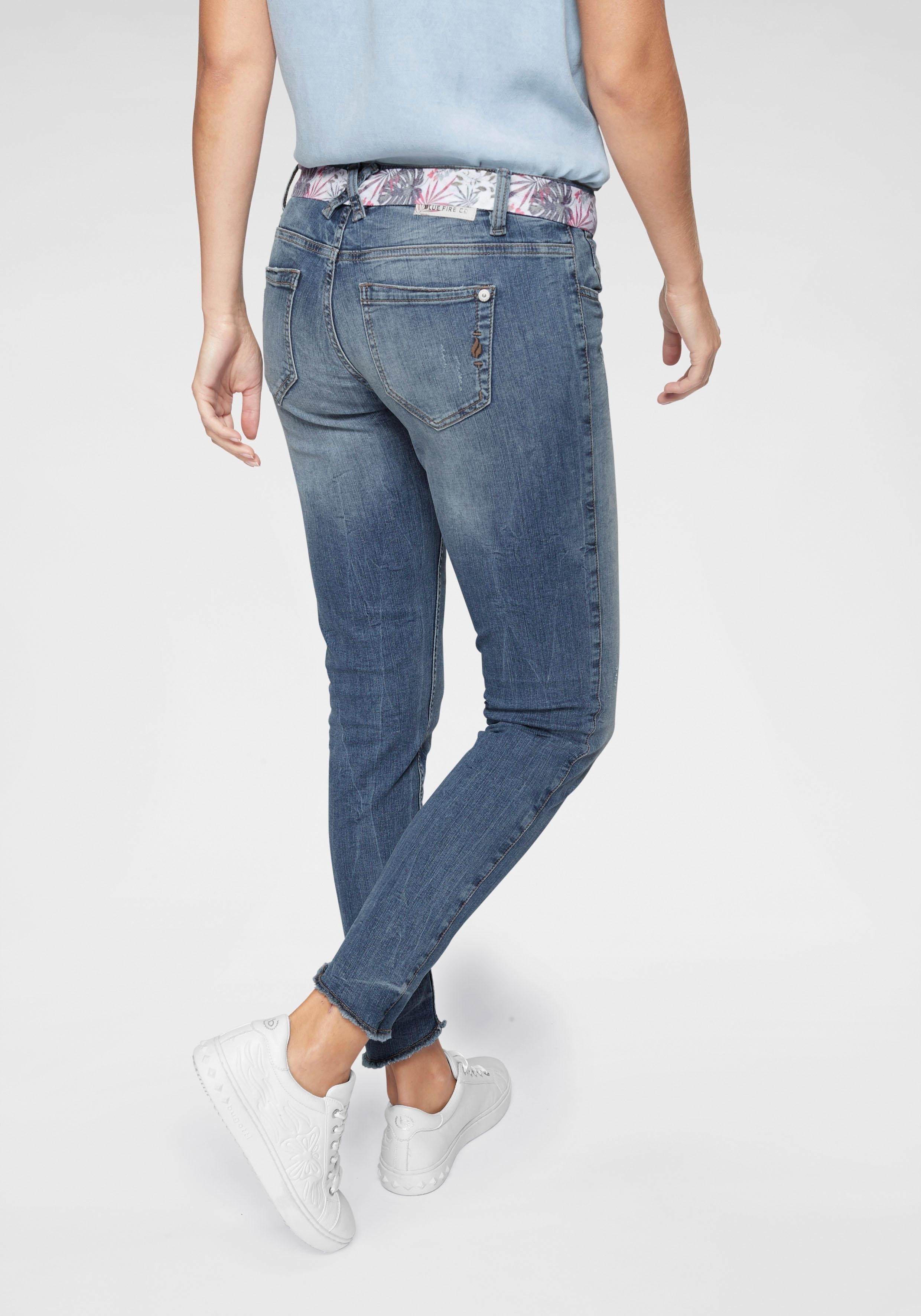 Blue Fire skinny jeans »CHLOE« nu online kopen bij OTTO