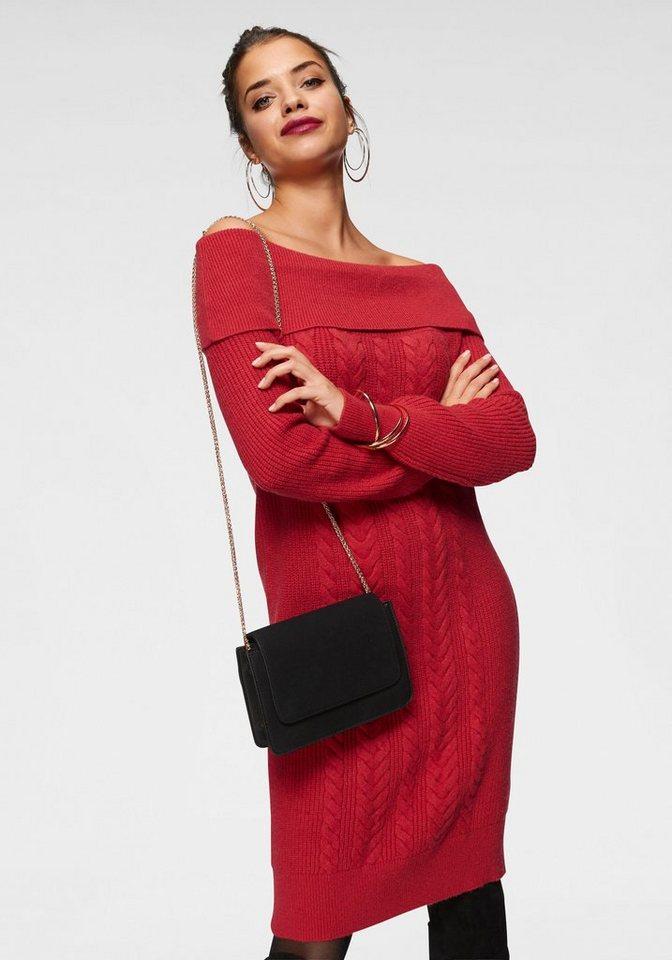 Vero Moda tricotjurk JINA rood