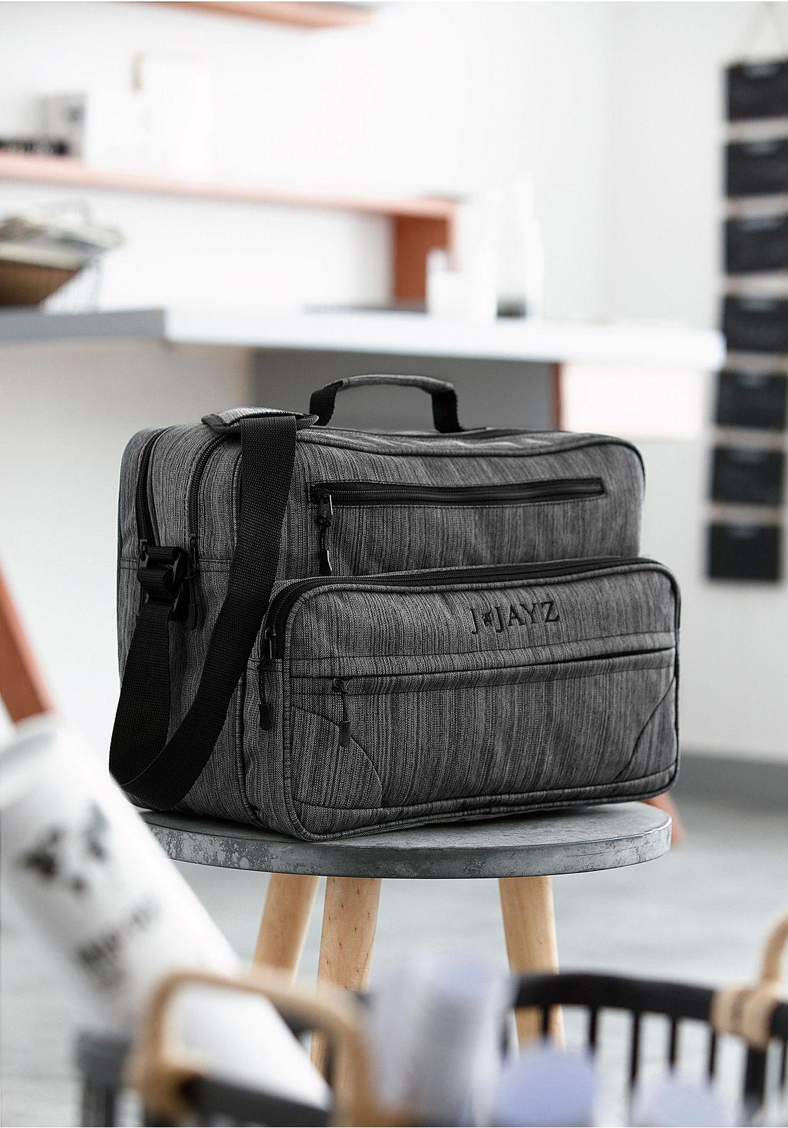J.Jayz schoudertas online shoppen  grijs/zwart