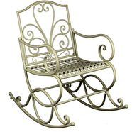 home affaire schommelstoel geschikt voor buiten wit