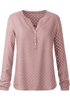 classic inspirationen blouse zonder sluiting roze