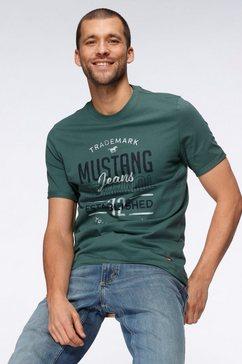 mustang t-shirt groen