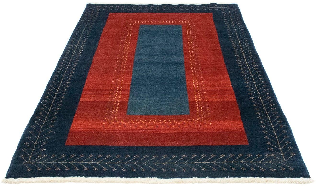 morgenland wollen kleed Loribaft Teppich handgeknüpft rot handgeknoopt voordelig en veilig online kopen