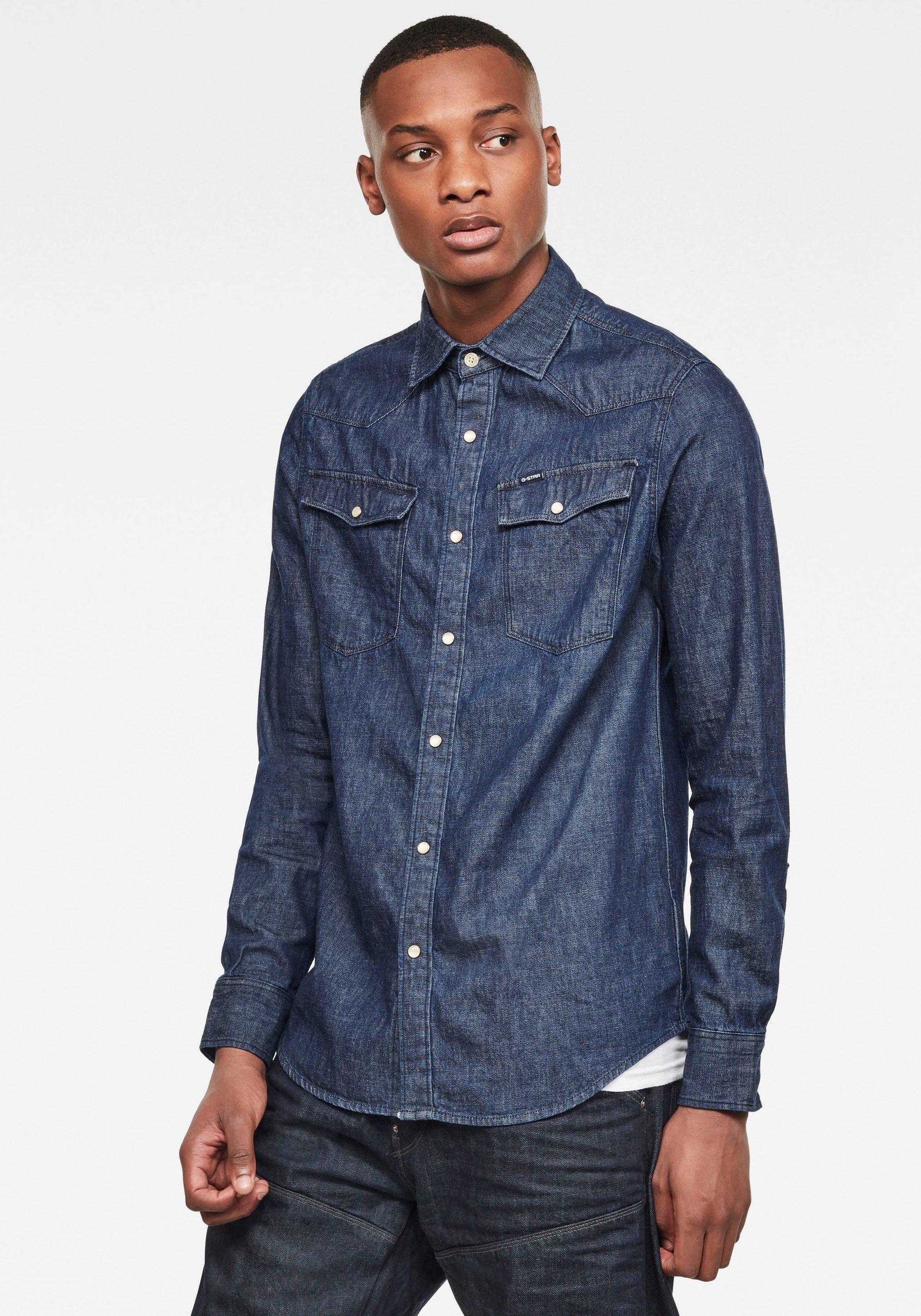 G-Star Raw jeansoverhemd voordelig en veilig online kopen