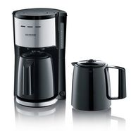 severin »ka 9253« filterkoffieapparaat zilver