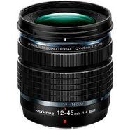 olympus zoomobjectief m.zuiko digital ed 12‑45mm f4 pro inclusief zonnekap zwart