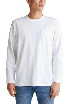 edc by esprit shirt met lange mouwen wit