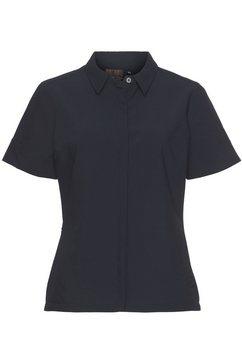 icepeak functionele blouse »almyra« blauw
