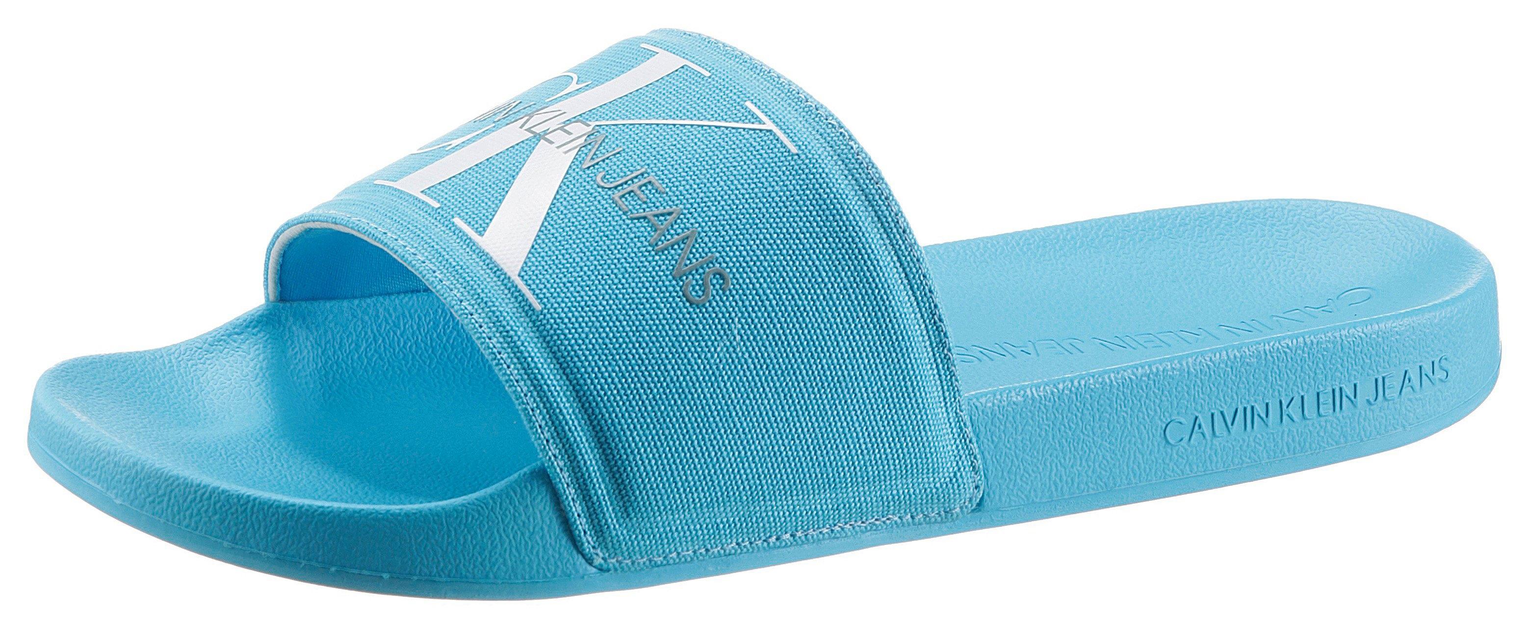 Calvin Klein slippers met opvallend logo - verschillende betaalmethodes