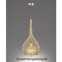 fischer  honsel hanglamp »ano« goud
