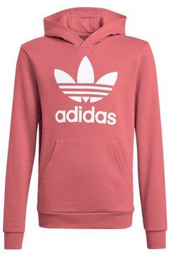 adidas originals hoodie trefoil uniseks roze