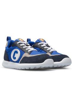 camper sneakers met praktische aantreklus blauw