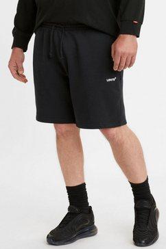 levi's sweatshort red tab sweatshort zwart