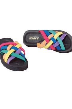 slippers, siebis zwart