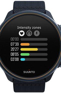 suunto smartwatch 9 baro titanium blauw