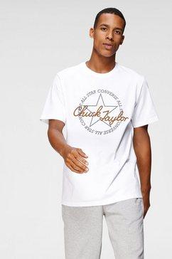 converse t-shirt »remix chuck tailor« wit