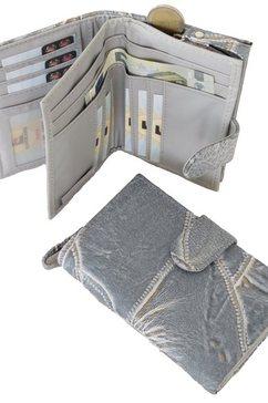 j.jayz portemonnee tijdloos met praktische indeling grijs