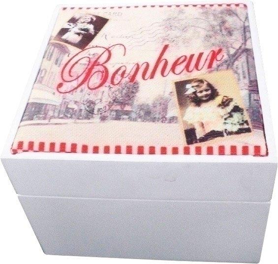 Myflair Möbel & Accessoires houten kist Lilou met een romantisch motief nu online bestellen